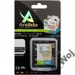 BAT ANDIDA  NOKIA BL-4C 6300/X2/2600/6103 1300mAh