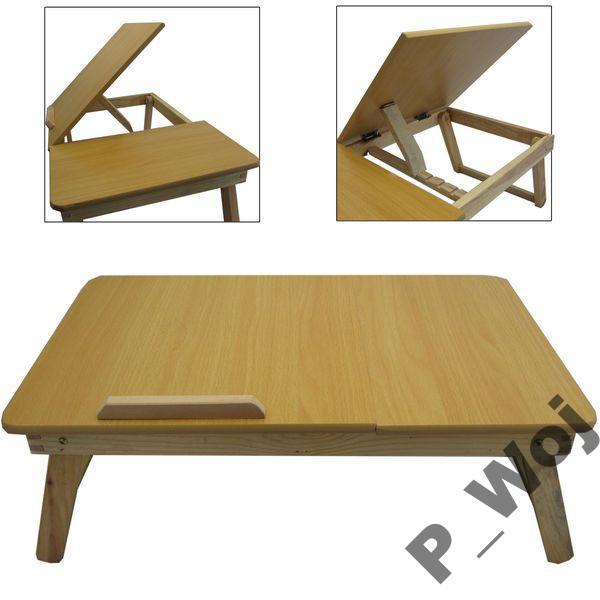 Stolik Do Laptopa 15 Drewniany Na Bazarekpl