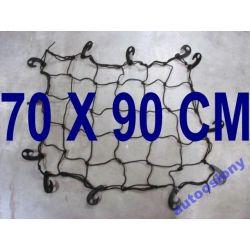 MOCNA SIATKA DO BAGAZNIKA ORGANIZER 70 X90 CM