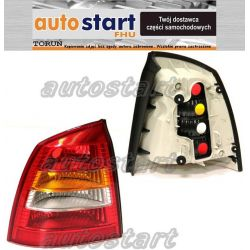LAMPA TYLNA TYŁ OPEL ASTRA G SDN/COUPE/KABRIO 98-