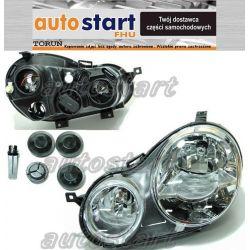 REFLEKTOR LAMPA PR L PRZÓD VW POLO 9N HB 01-05 TOR
