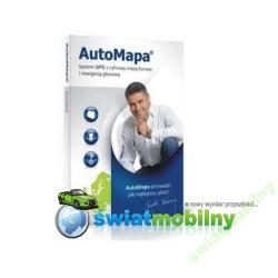 AUTOMAPA EUROPA 6.2.0 WERSJA BOX FAKTURA VAT