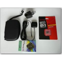 ZESTAW  ETUI + ADAPTER + 8 GB microsd + ANTENA GPS