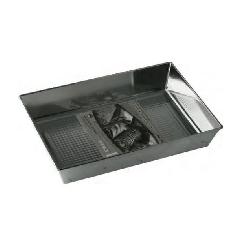 BLACHA FORMA DO PIECZENIA FAKTUROWANA 30x25x6 cm F