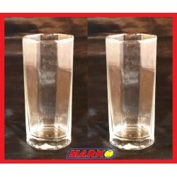 SZKLANKA LONG DRINK 340 ML GEOMETRIA NADIR