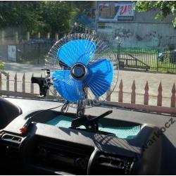 wentylator z klipsem samochodowy  12V WIATRAK