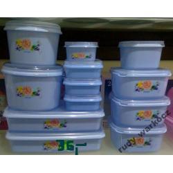 Pojemniki na żywność  naczynia kuchenne 24 el