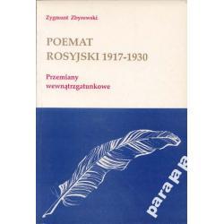 POEMAT ROSYJSKI 1917-30 Jesienin Błok Majakowski