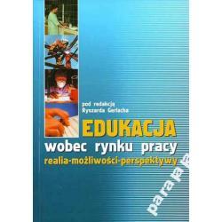 EDUKACJA RYNEK PRACY Gerlach Pedagogika Bezrobocie
