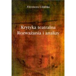 KRYTYKA TEATR Dramat Aktor SOCJOLOGIA Nauka SZTUKA
