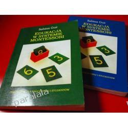 Edukacja w systemie Montessori - tom 1, tom 2 - Sabina Guz UNIKAT