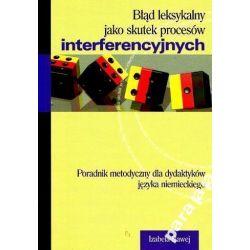 BŁĄD LEKSYKALNY Nauka Jezyka Obcego J.Niemiecki