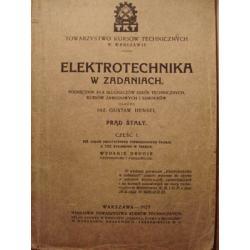 ELEKTROTECHNIKA FIZYKA Zadania 1927 Prąd Technika