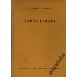 AJDUKIEWICZ Zarys Logika Formalna Zdan Jezyka 1958