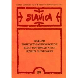 JEZYK SLOWIAŃSKI Slawistyka Semantyka Lingwistyka