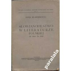 SLOWIANOFILSTWO MESJANIZM 1926 Czartoryski Linde..