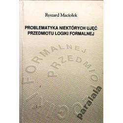 LOGIKA FORMALNA Redukcja Logiki Filozofia Nauki