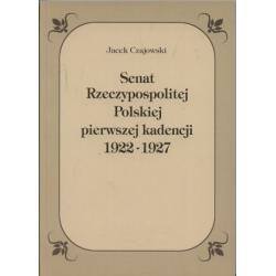 SENAT a SEJM POLSKI 1922-27 Parlament Konstytucja