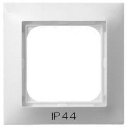 Ospel Impresja Ramka pojedyncza do łączników IP44 biały RH-1Y/00