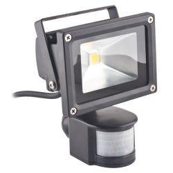 Superled Oprawa lampa naświetlacz halogen Led 10W barwa ciepła z czujnikiem ruchu PIR