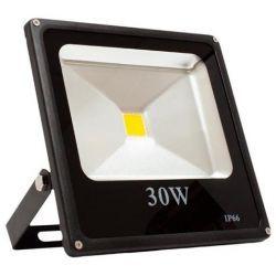 Superled Oprawa Lampa Naświetlacz Halogen Led płaski 30W barwa zimna 3035