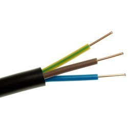 Elektrokabel Kabel energetyczny ziemny YKY 3x2,5 żo 0,6/1kV