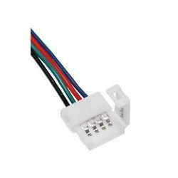 Superled Złączka CLICK pojedyncza do taśm LED RGB 10mm + przewód 14cm 3615