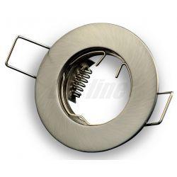 LED line Oprawa oprawka led halogenowa stała okrągła kolor satyna 3004