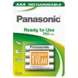 Panasonic Akumulator evolta P-03 R03 AAA Ni-MH 750mAh 1,2V 5274