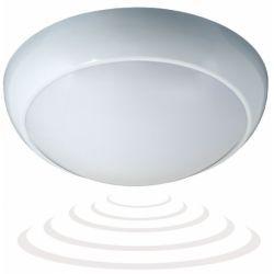 Orno Oprawa lampa plafon plafoniera z mikrofalowym czujnikiem ruchu BLIZZARD OR-PL-345WE27PSM