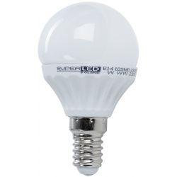 Superled Żarówka LED E14 SMD 4W (40W) 350lm 230V barwa ciepła 3067