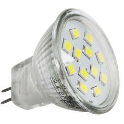 Superled Żarówka LED MR11 SMD 2,4W (24W) 200lm 12V barwa zimna 3081