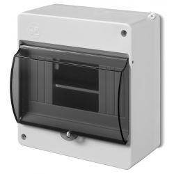 Elektro-plast Obudowa natynkowa typ S 6-mod. z szybą 2306-11