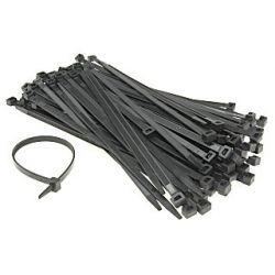 Scame Opaski taśmy kablowe czarne 3,6x290mm 839.53300