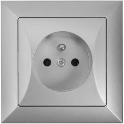 Timex Opal Gniazdo pojedyncze 2P+Z srebrny