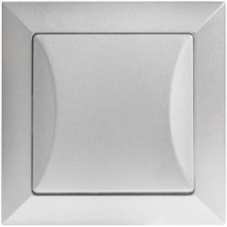 Timex Opal Przycisk zwierny dzwonek srebrny
