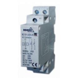 Bemko Stycznik modułowy BC101 1P 25A TYP 20 (2z + 0r) A60-BC101-1P-25-20