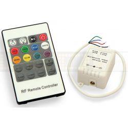 LED line Sterownik do taśm led radiowy RGB 72W 245008