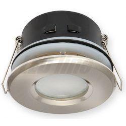 LED line Oprawa oprawka led halogenowa wodoodporna stała okrągła kolor satyna IP65 245442