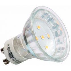 Superled Żarówka LED GU10 SMD 1W (10W) 80lm 230V barwa zielona 3116