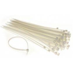 Conotech Opaski taśmy kablowe białe 4,2x250mm 3128