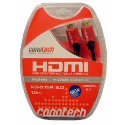 Conotech Kabel HDMI-HDMI 1.4, high speed 5,0m NS-005R