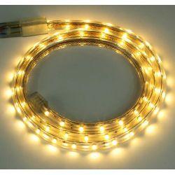Taśma LED 60x3528 IP67 230V biała ciepła 2700K 3202