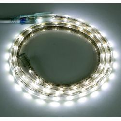 Taśma LED 60x3528 IP67 230V biała zimna 6500K 3203