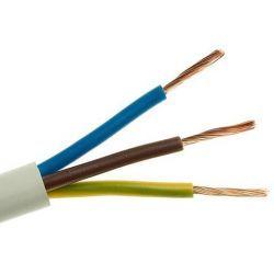 Elektrokabel Przewód mieszkaniowy 300/300V OMY 3x1