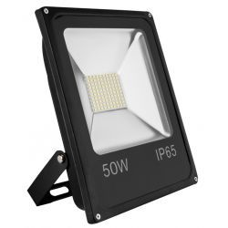 Forever Light Oprawa Lampa Naświetlacz Halogen Led płaski 50W barwa zimna 9884