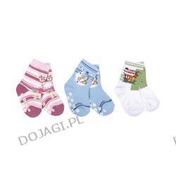 Skarpetki bawełniane antypoślizgowe 6-12m. Baby Ono