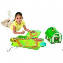 Kuferek wielofunkcyjny z zabawkami - Stajnia Zip Bin