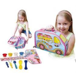 Kuferek wielofunkcyjny z zabawkami- Sklep z lodami Zip Bin