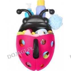 Organizer - Biedronka na zabawki różowa Boon